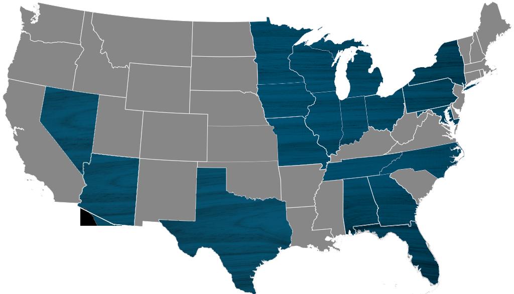 Portfolio Map – Jan 2021